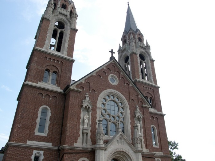1. Holy Hill National Shrine of Mary, Help of Christians (Erin)