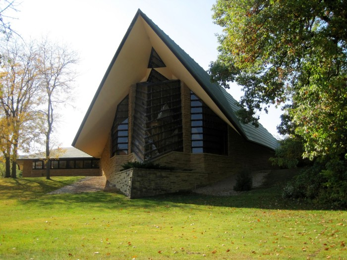 5. First Unitarian Society Meeting House (Shorewood Hills)
