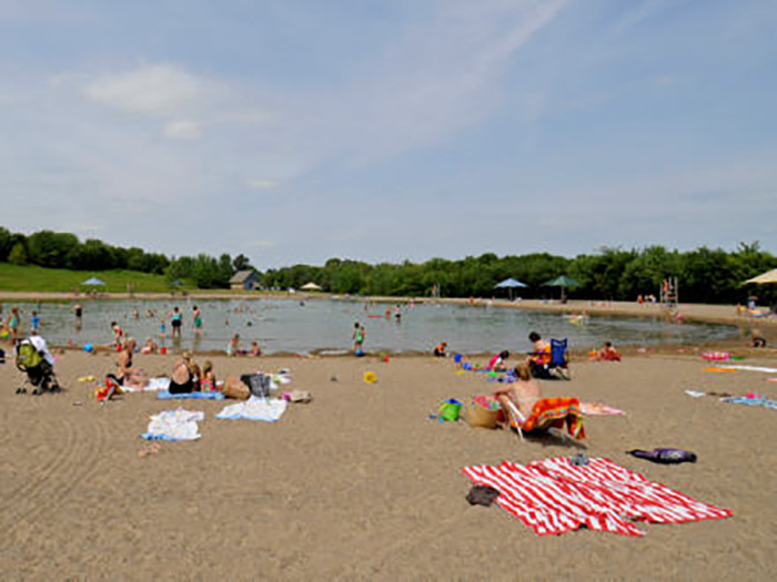 6. Lake Minnetonka Swimming Pond is Lake Minnetonka's small chlorinated sister. It's perfect for a dip on a hot day.