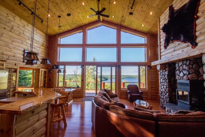 6. Solbakken's Guest House overlooking Caribou Lake.