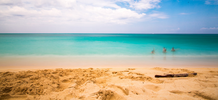 1) Gorgeous beaches, with turquoise water and fine sand between your toes.
