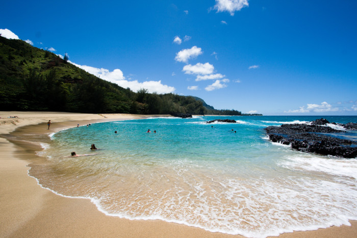1) Hawaii is a beach bum's heaven – beautiful beaches surrounding you on all sides means that it'll be a long time before you run out of new spots to check out. Plus, all the beaches are public!