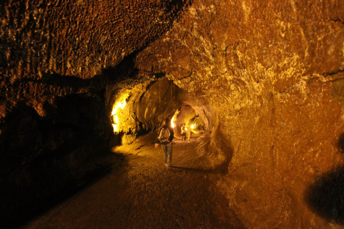 1) No trip to the Big Island is complete without a visit to the Thurston Lava Tube, a 500-foot cave that used to carry molten lava.