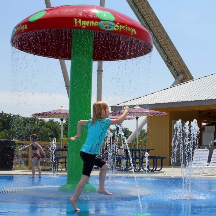 7. Splashin' Safari at Holiday World Water Park