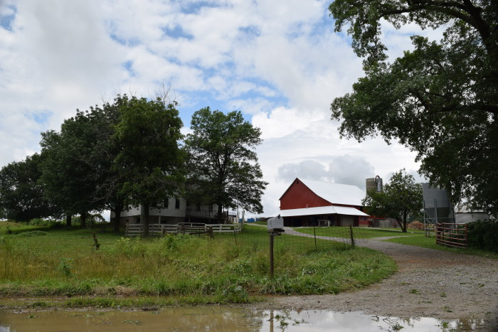 1. A farm in Audrain County, obviously after some rain.