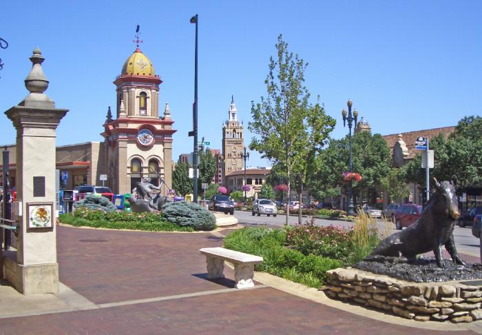 1. Country Club Plaza, Kansas City