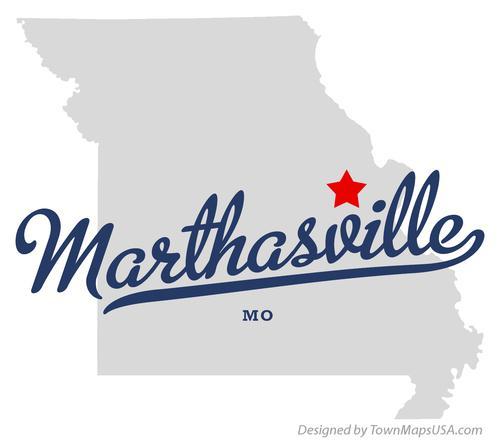 1. Marthasville map