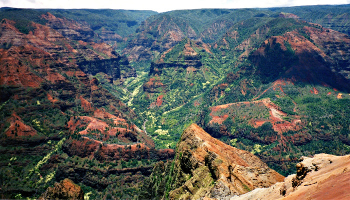 """10) Is there really question as to why they call Waimea Canyon the """"Grand Canyon of the Pacific?"""""""