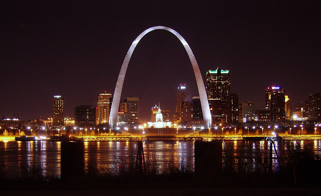 10. St. Louis, Pop 318,527