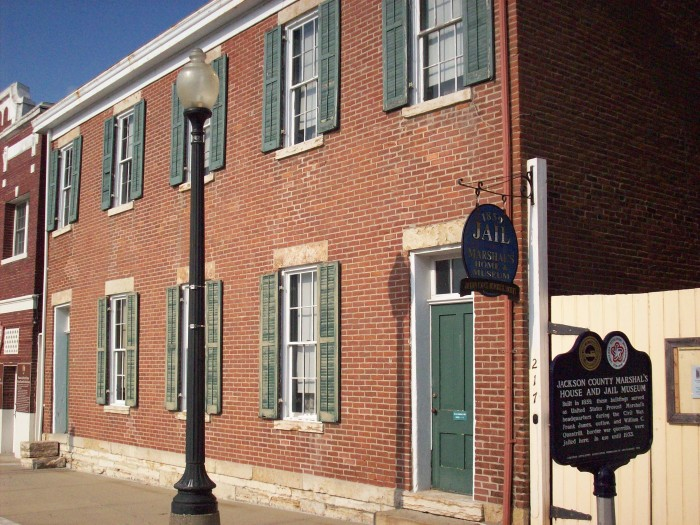 10. Jackson County Jail and Marshall's House, Independence