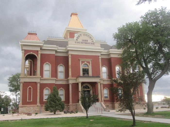 9. Bent County (Population: 6,125)