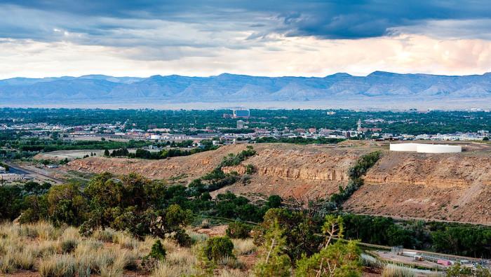 6.) Grand Junction (Population:  60,167)