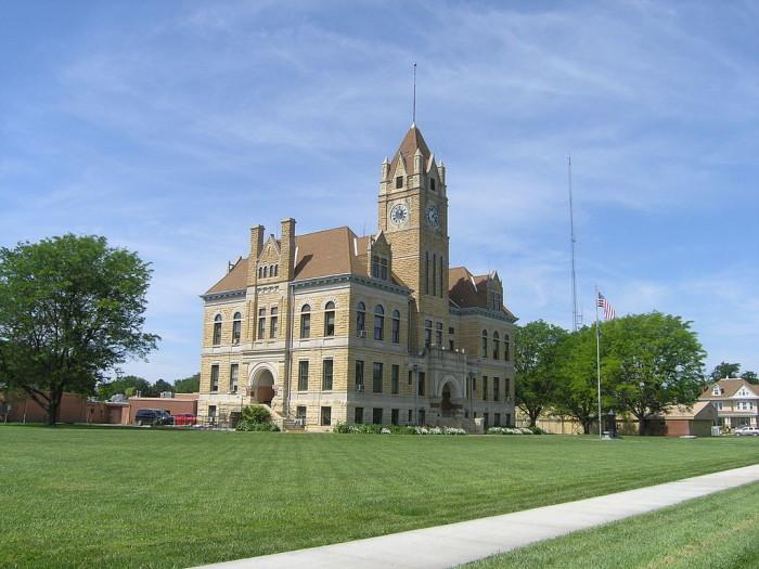 5. Osbourne County (Population: 3,906)