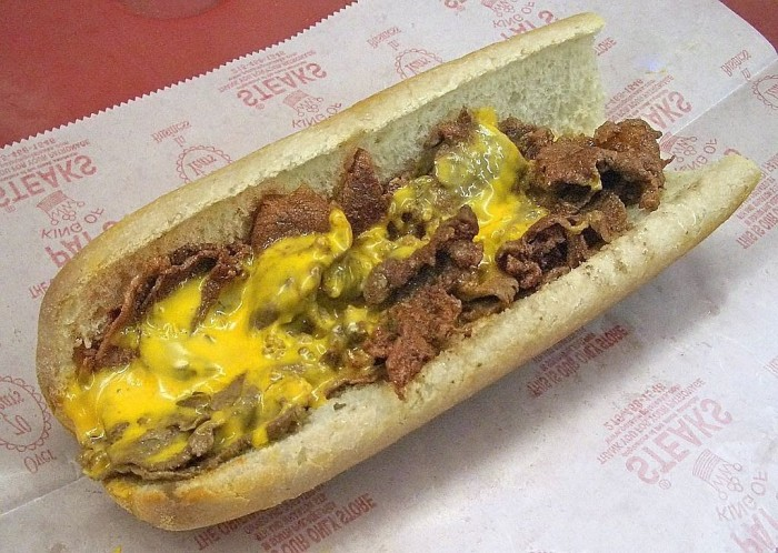 1. You're craving a really good cheesesteak. Like, right now.