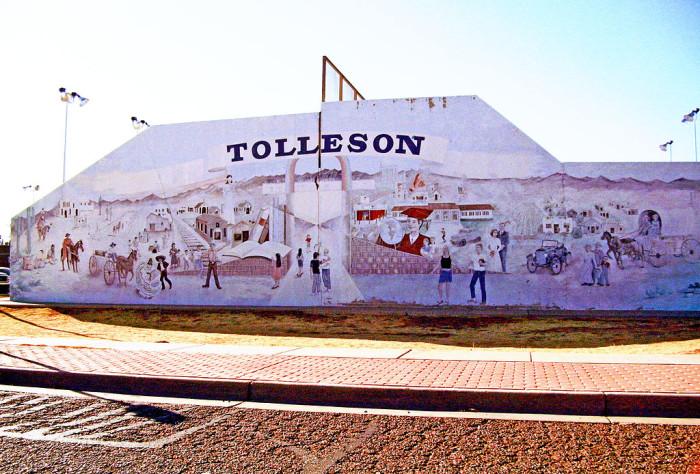 2. Tolleson (pop. 6,754)