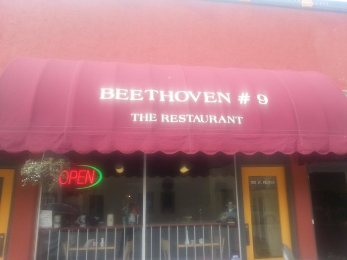 2.) Beethoven's #9 Restaurant (Paola)