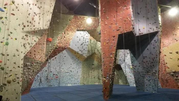 6. Go Vertical Rock Climbing, Philadelphia