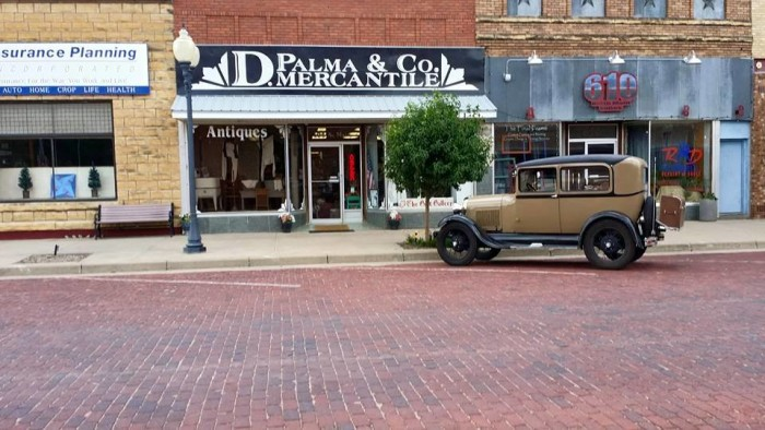 4. D. Palma and Co. Mercantile (Russell)