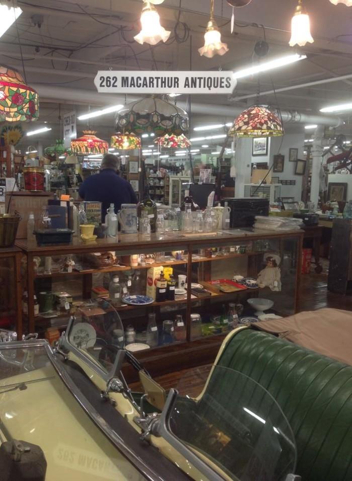 10. Antique Marketplace of Lemoyne