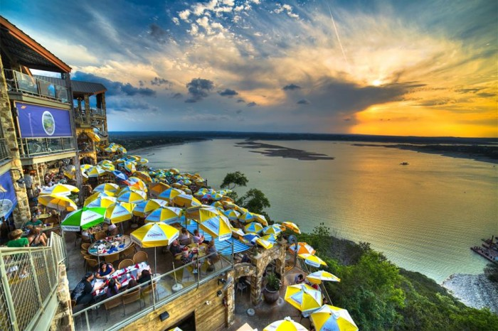 1) The Oasis on Lake Travis (Austin)