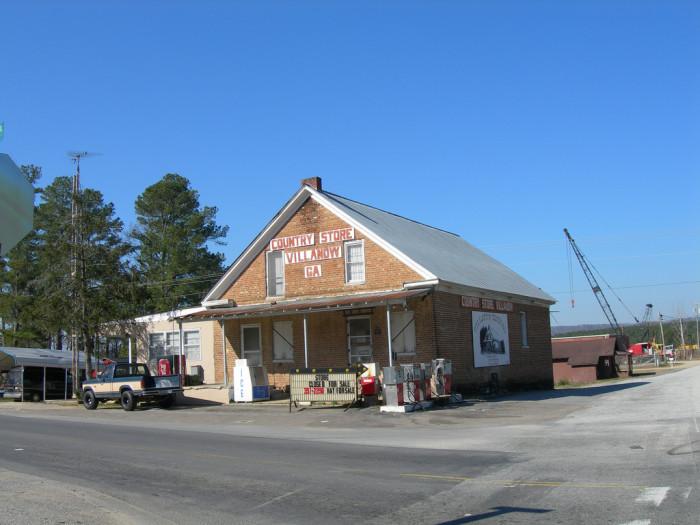 9. Villanow General Store in Walker County, GA