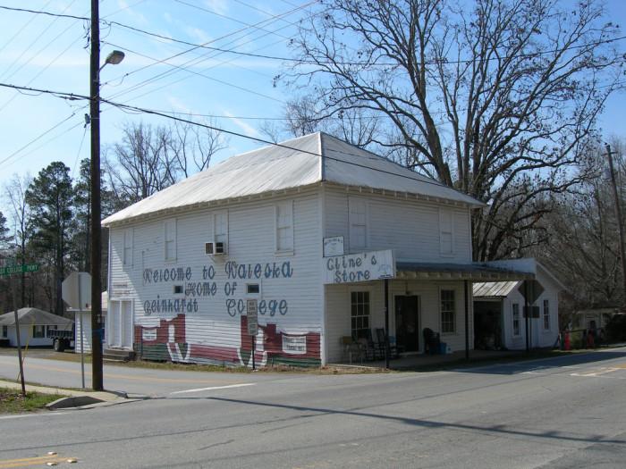6. Cline's General Store in  Waleska, GA