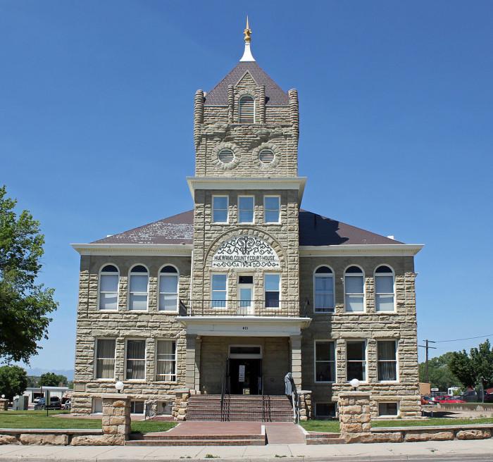 2. Huerfano County (Population: 6,948)