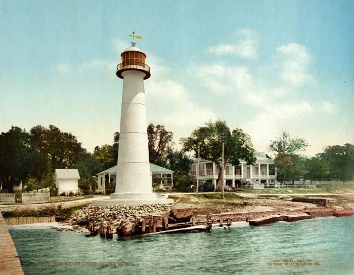 10. The Biloxi Lighthouse