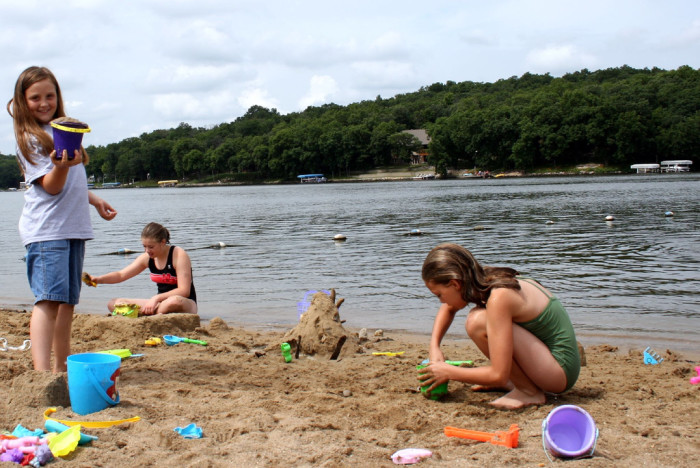 10. Spend a day lounging at the beach; Clear Lake or Lake Okoboji are good ones.