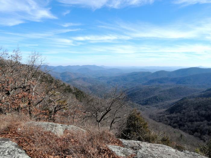 6. Appalachian Trail in North Georgia