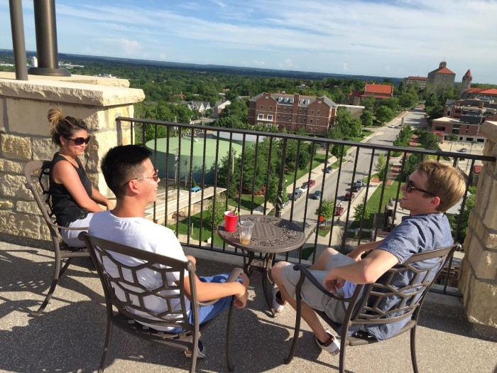 2. The Nest on Ninth at The Oread (Lawrence)