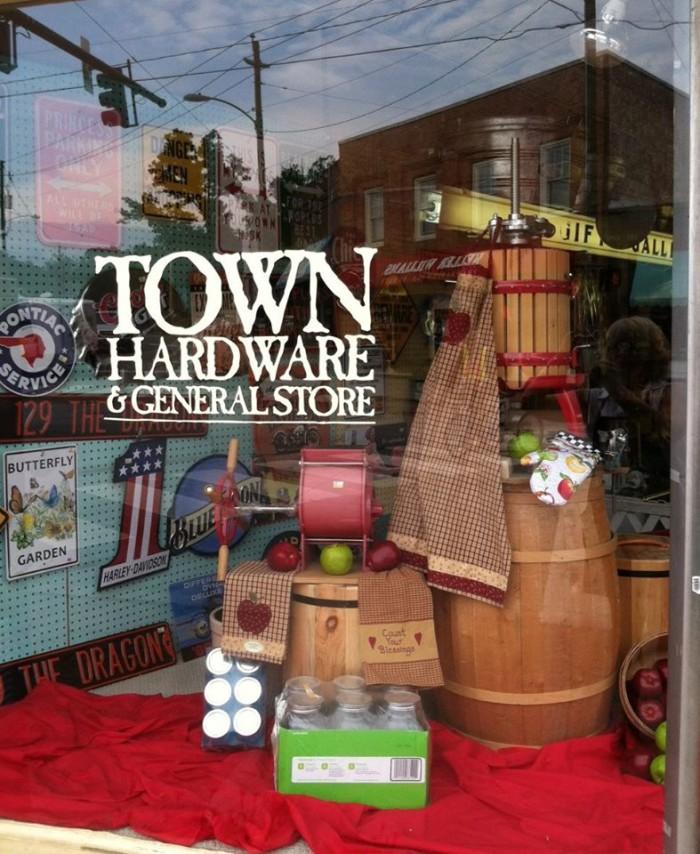 10. Town Hardware & General Store, Black Mountain