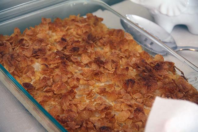 3) Funeral Potatoes