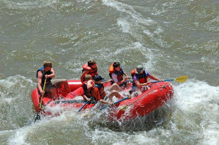 9) Strap on Your Life Vest and Go Whitewater Rafting