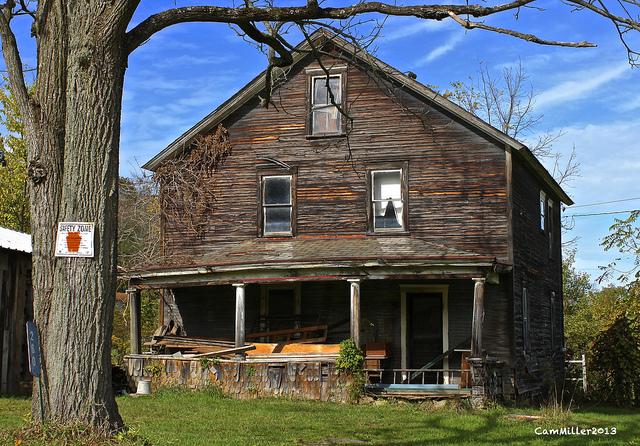 1. You can practically hear the ghosts howling in this house in Washington County.