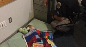 What This Kansas Officer Did For A Baby In Protective Custody Will Melt Your Heart