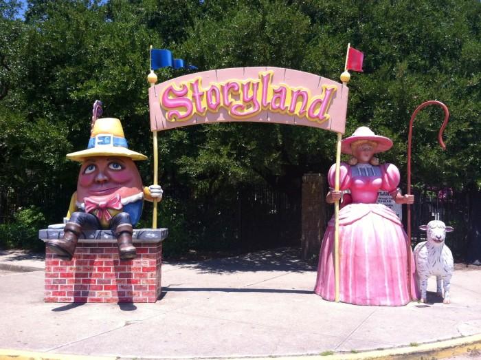 5) Storyland – New Orleans