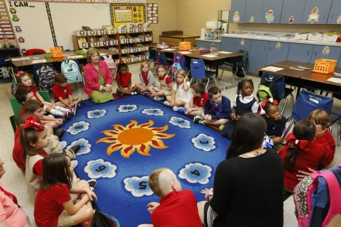 1) St. Charles Parish Schools: 107