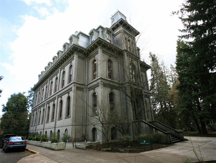 9) Deady Hall West, Eugene
