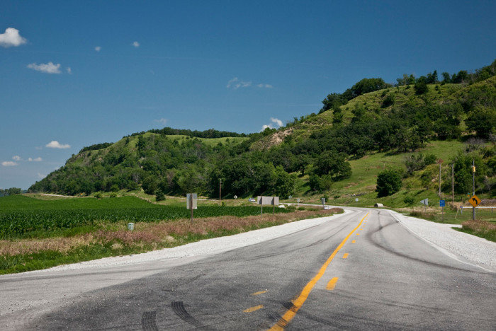 10. Take a road trip on the scenic byway through the Loess Hills