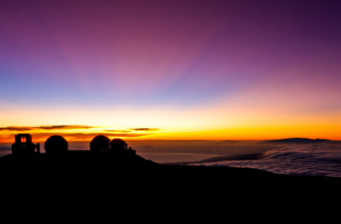 12) Hawaii is a forerunner in the field of astronomy, with one of the country's most impressive observatories sitting atop Mauna Kea.