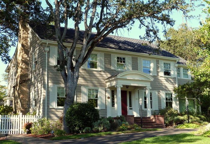 11) Frank Chamberlain Clark House, Medford