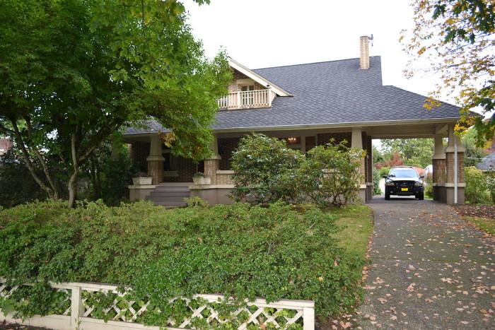 9) Elmer Harlow House, Eugene