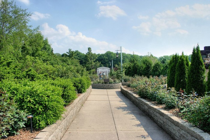 8) Michigan State University Horticulture Gardens, East Lansing
