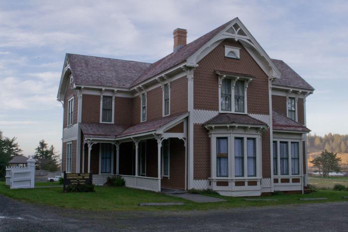 5) Patrick Hughes House, Cape Blanco