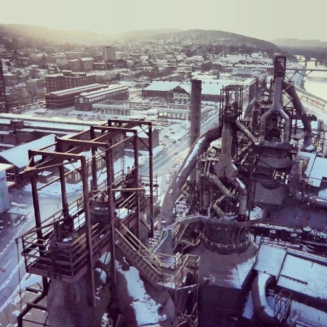 10. Bethlehem Steel Stacks