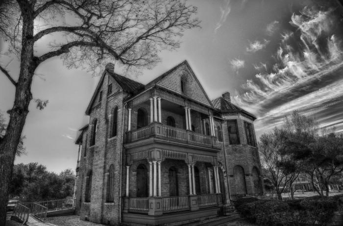 7) Abandoned house in Hemisphere Park in San Antonio.