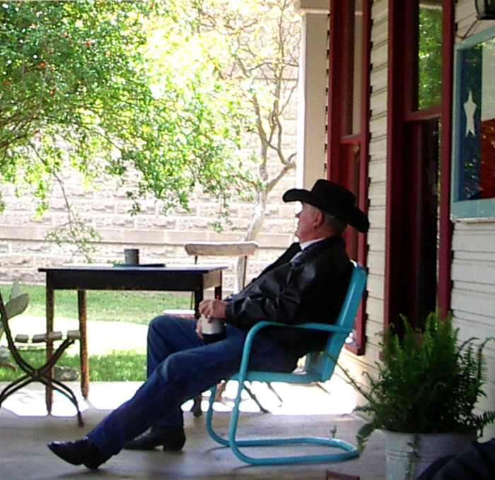11) You think back porch sittin' is a perfectly enjoyable way to spend the afternoon.