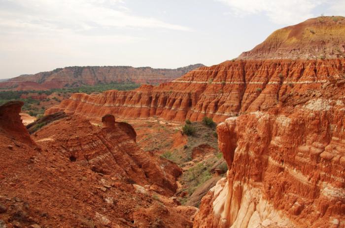 2) Palo Duro Canyon