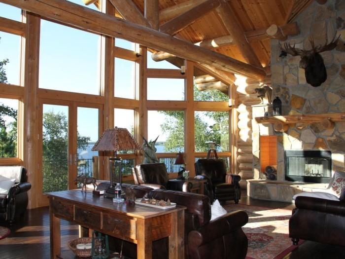 10. Overholser Lodge on Woman Lake.
